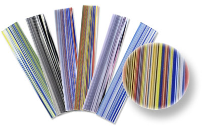 System 96 Fusing Glass Stripes