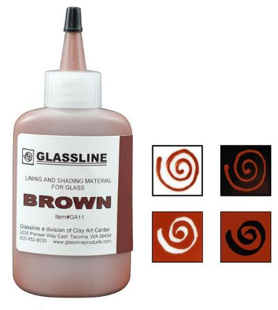 Glassline Brown Paint