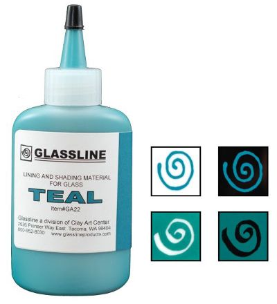 Glassline Teal Paint