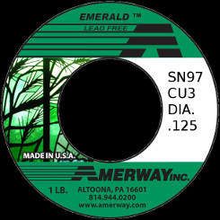 Amerway Emerald Lead Free Solder