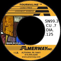 Amerway Tourmaline Lead Free Solder